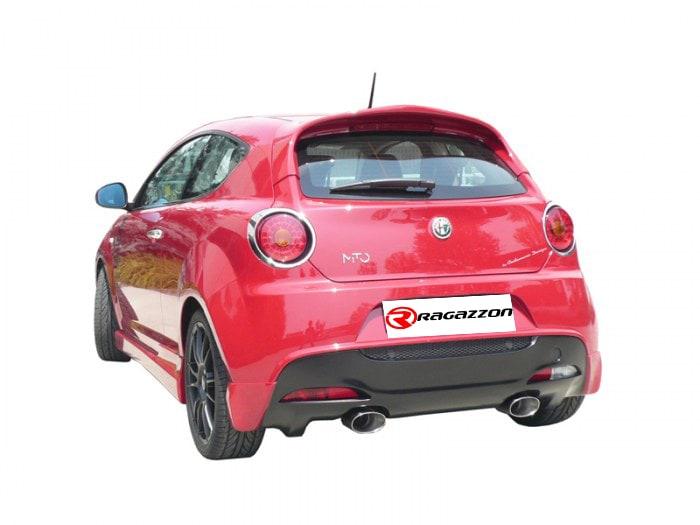 Alfa Romeo Mito con terminale Ragazzon